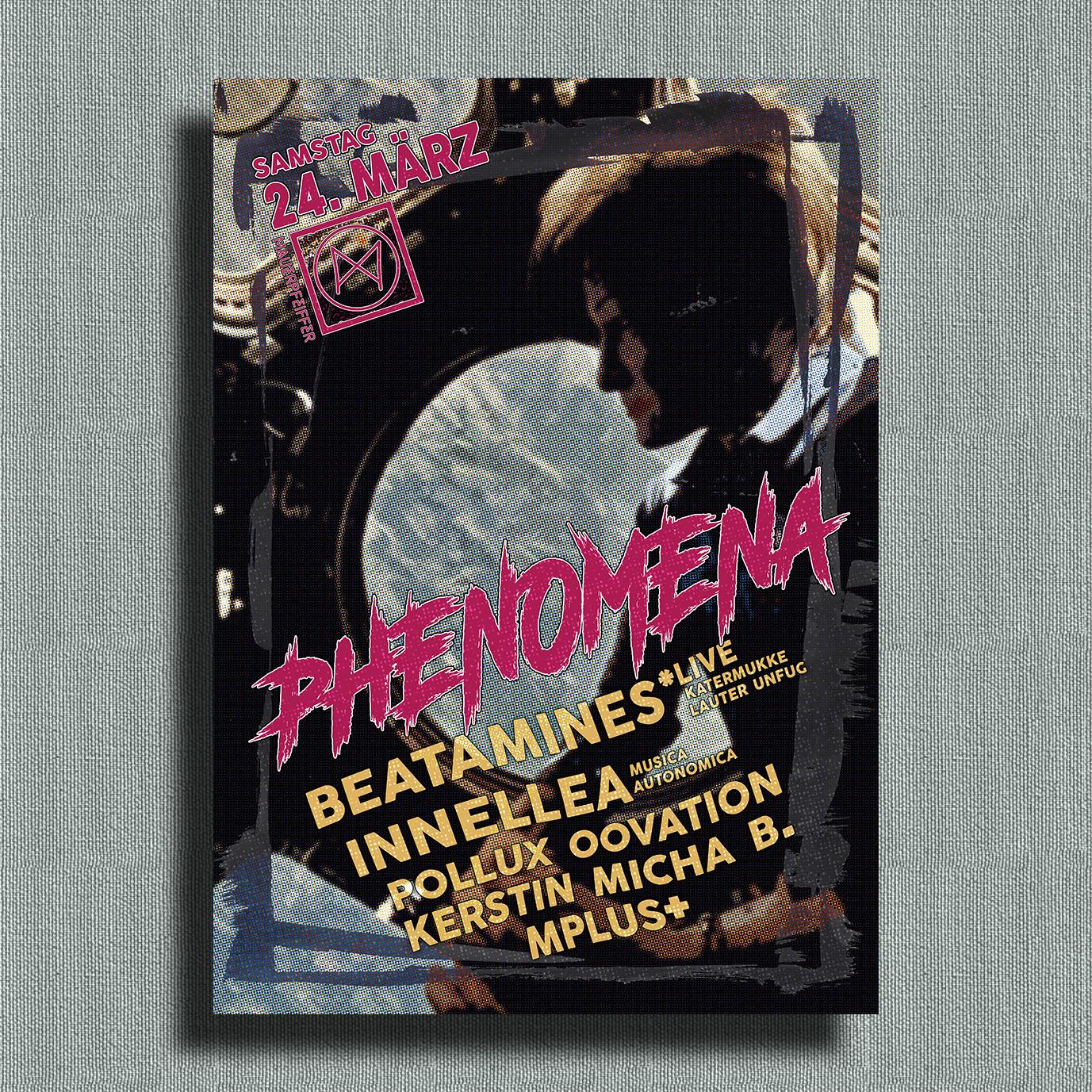 Phenomena ➠ Beatamines Live! & Innellea
