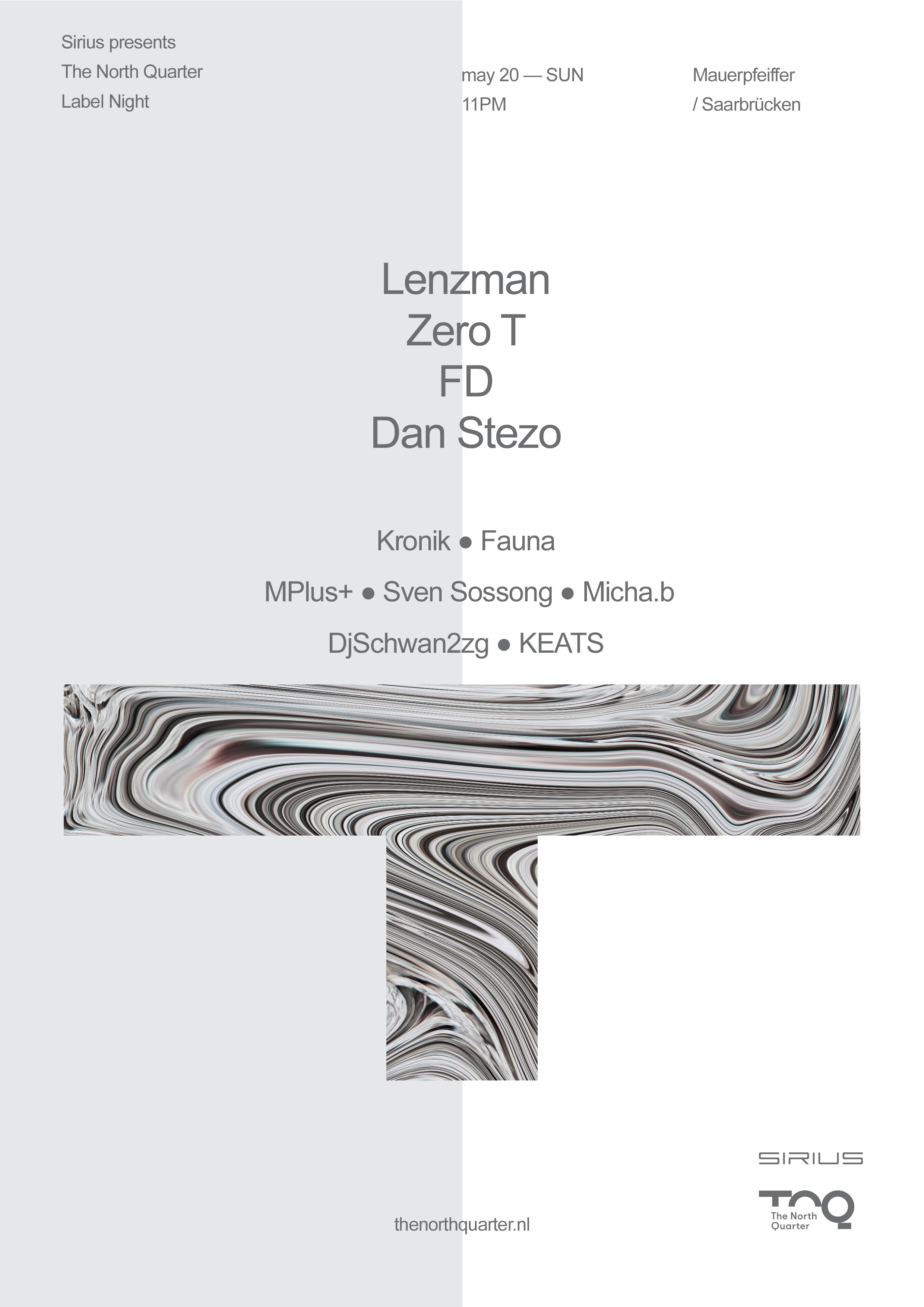 Sirius w/ TNQ Night (Lenzman, Zero T, FD & Dan Stezo)