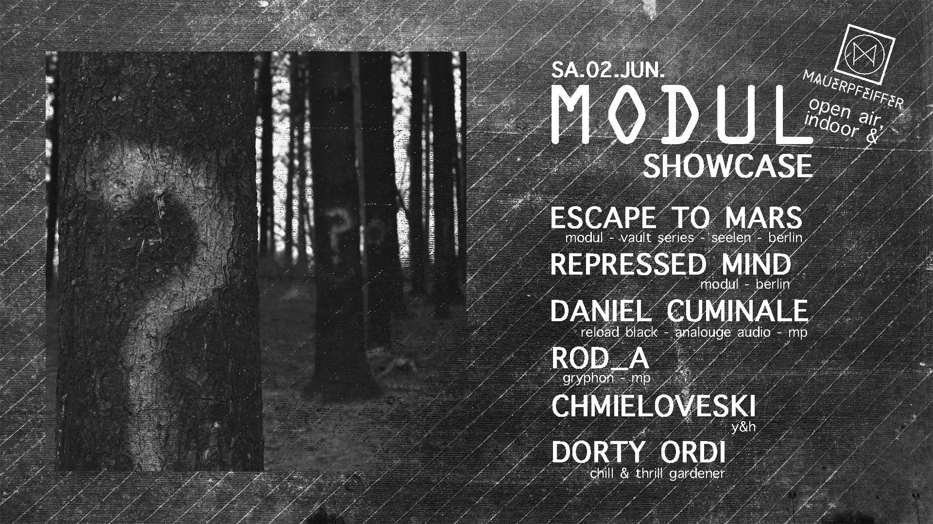 MODUL Showcase (open air & drinne)