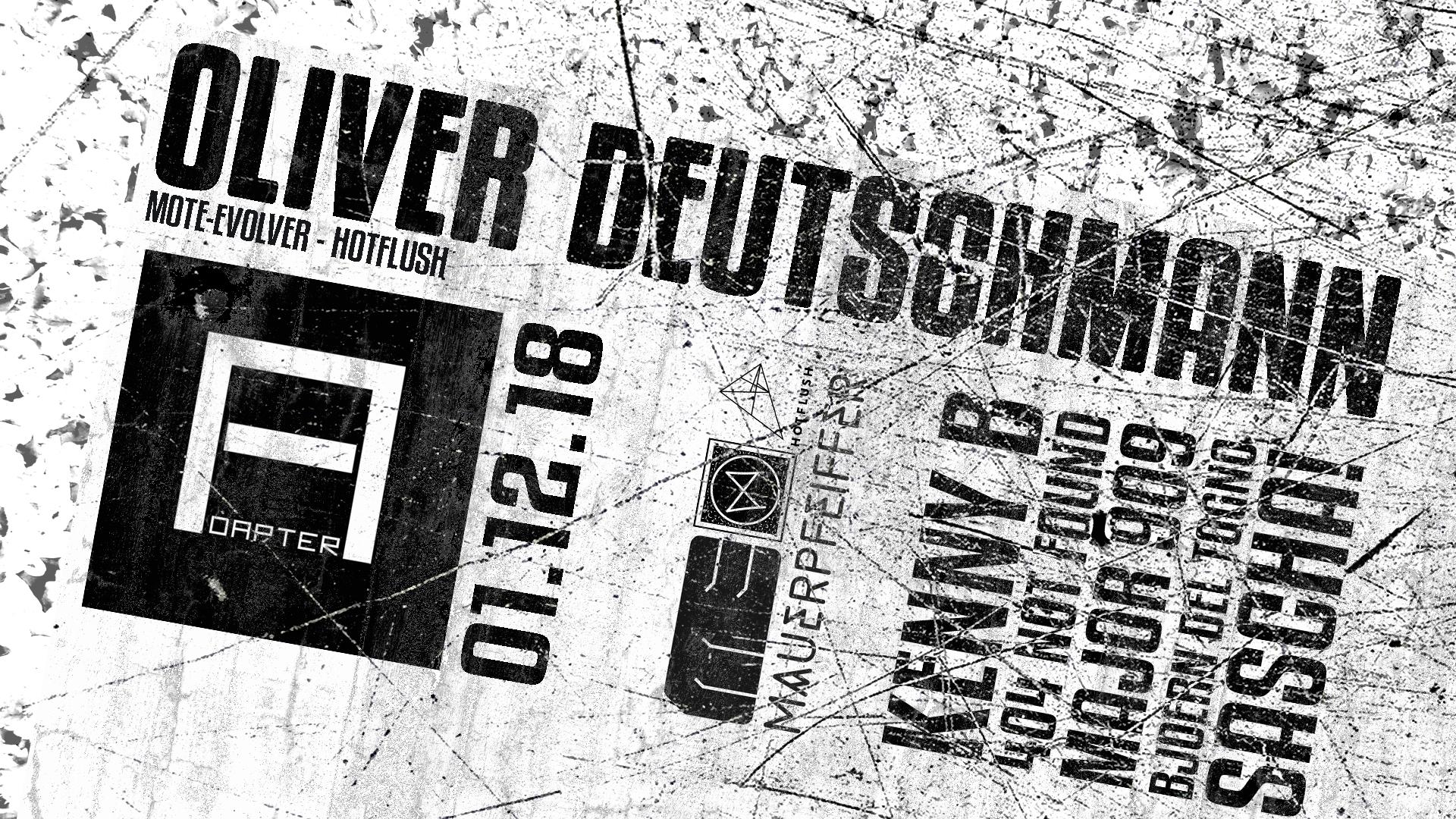 Adapter w/ Oliver Deutschmann