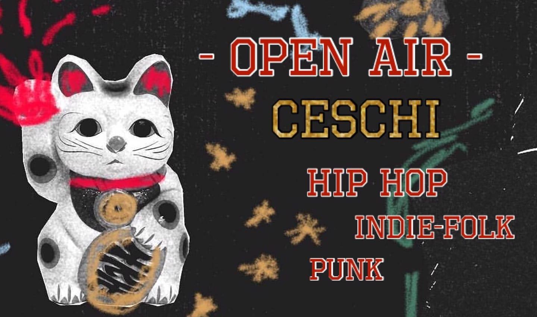 Open Air: Ceschi (USA) w/ Jane Boxall + Prison Kit