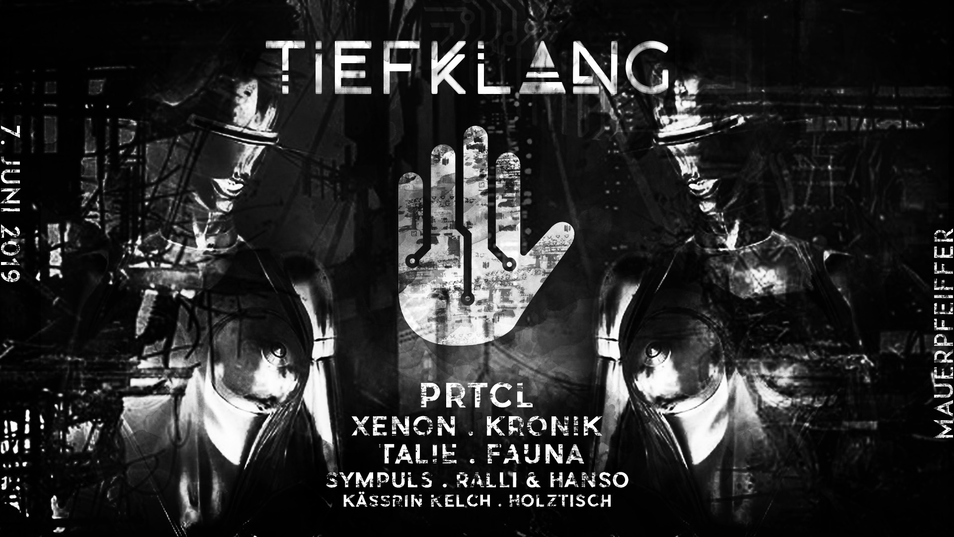 Tiefklang invites Humanoid w/ PRTCL & Xenon
