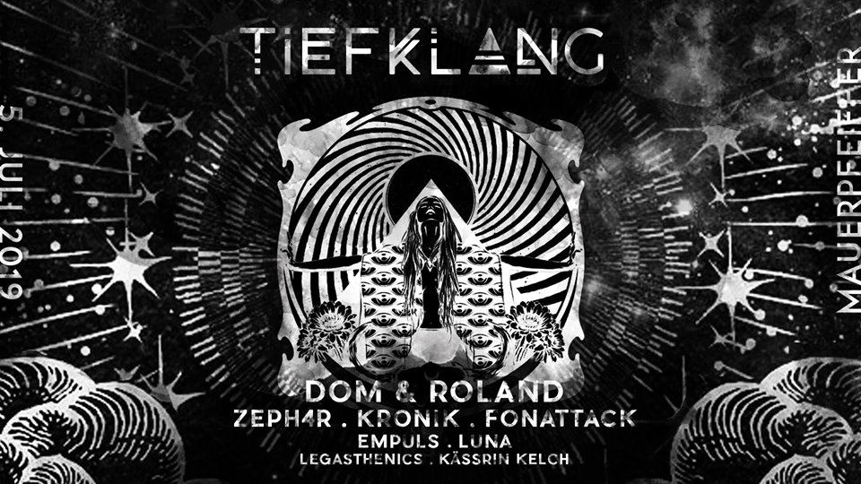 Tiefklang mit Dom & Roland (Moving Shadow, D&R Productions   UK)
