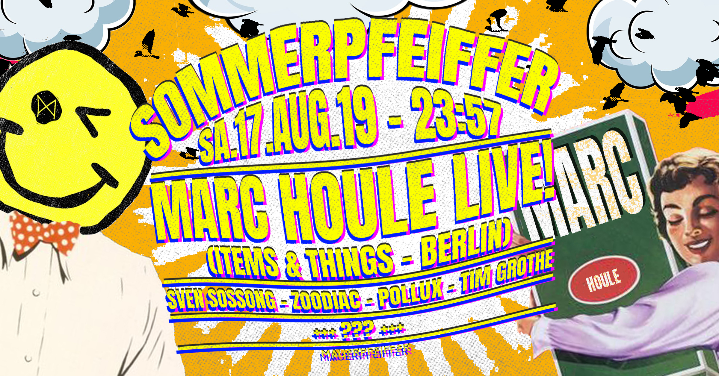 Sommerpfeiffer ✦ Marc Houle live! (Items & Things - Berlin)