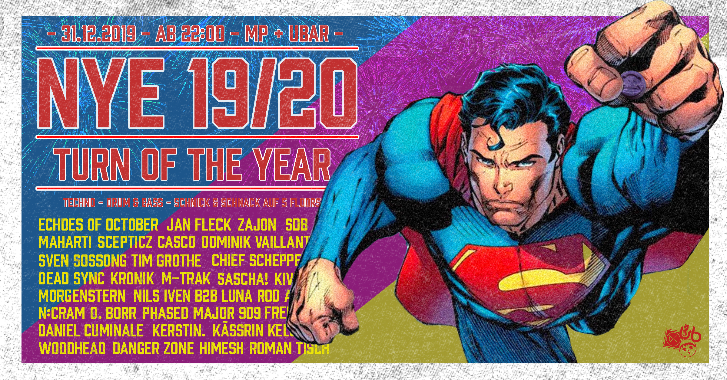 NYE 19/20 - The Turn of the Year!
