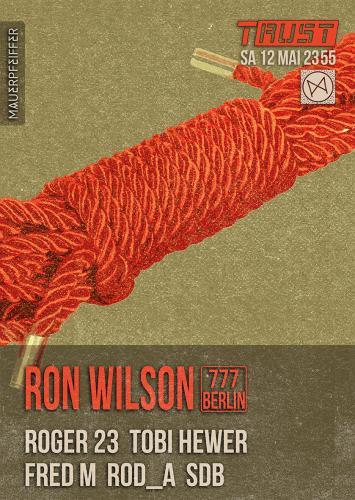 web plakat 12 mai - ron wilson
