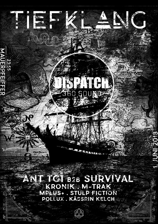 Tiefklang mit Ant TC1 B2B Survival | Dispatch 360 Sound