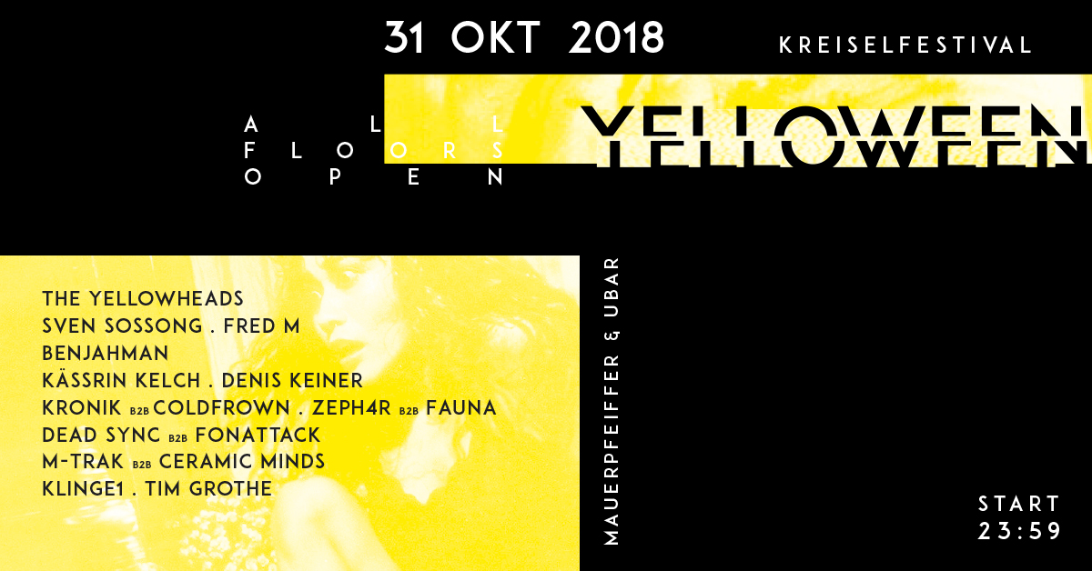 Yelloween - Das Festival (MP+UB) The YellowHeads uvm.