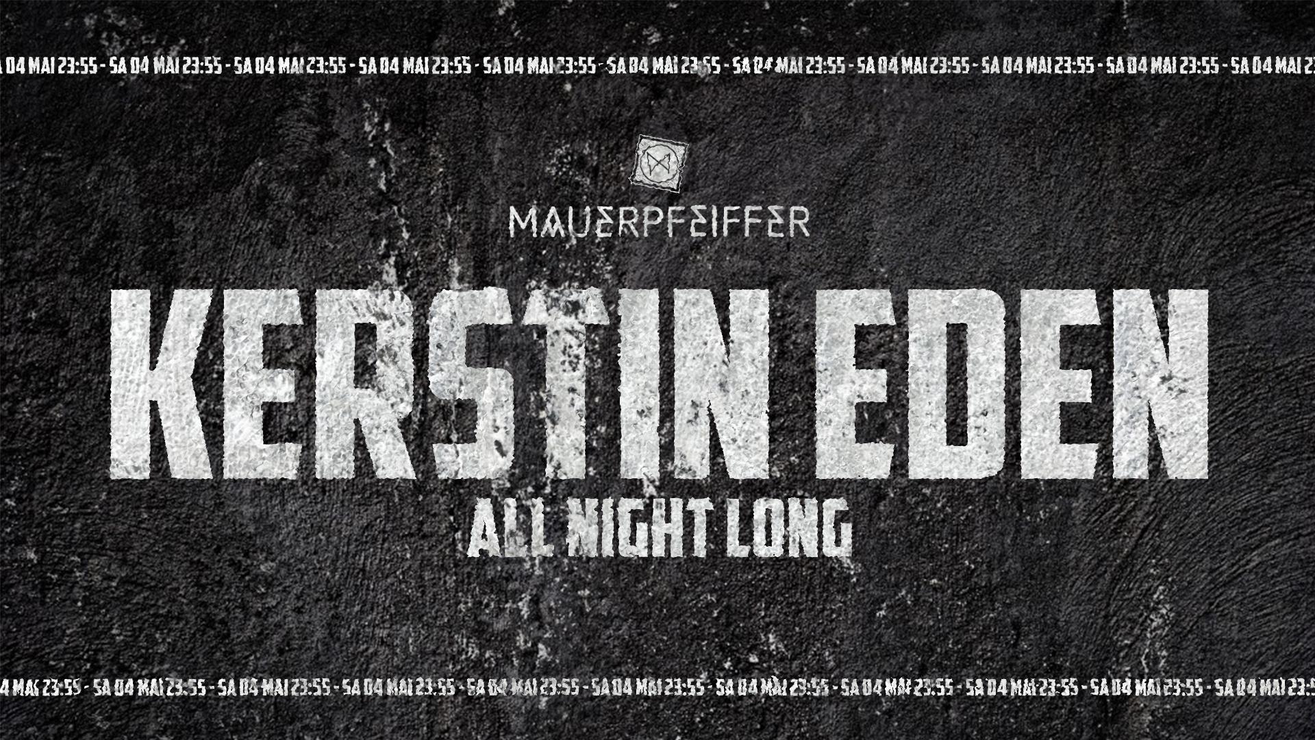 Kerstin Eden - all night long