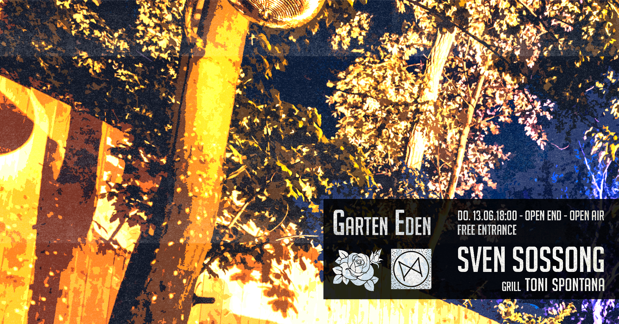 Garten Eden Open Air - Open End - Free Entrance