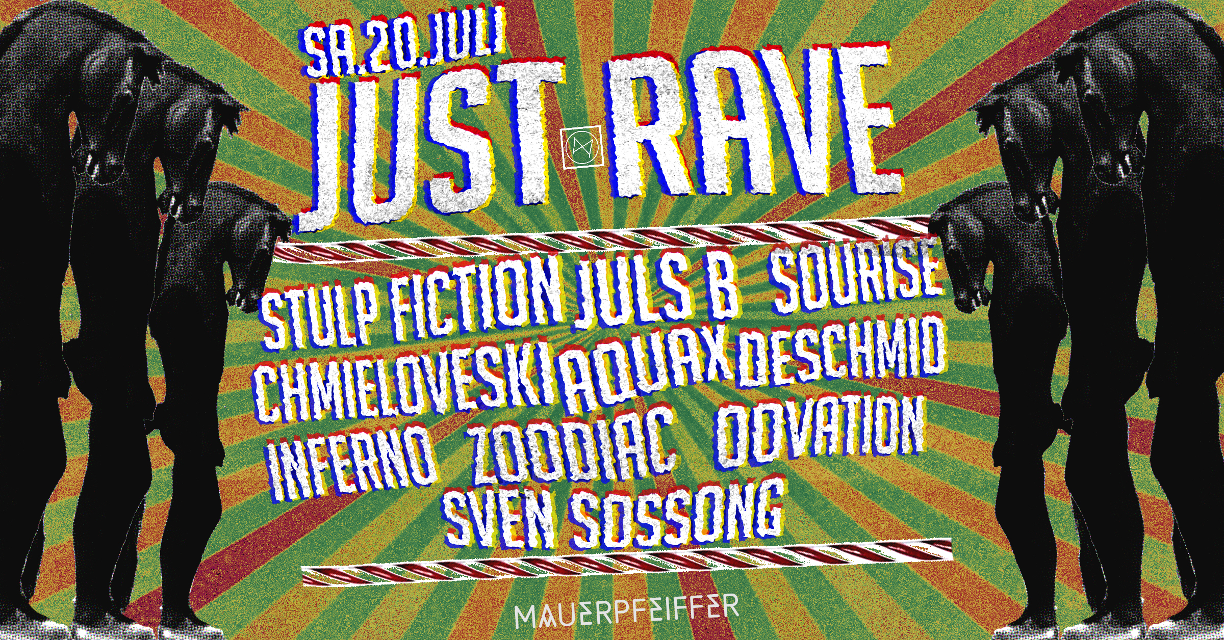 Just Rave! - Die Nacht im Wahn - all floors open