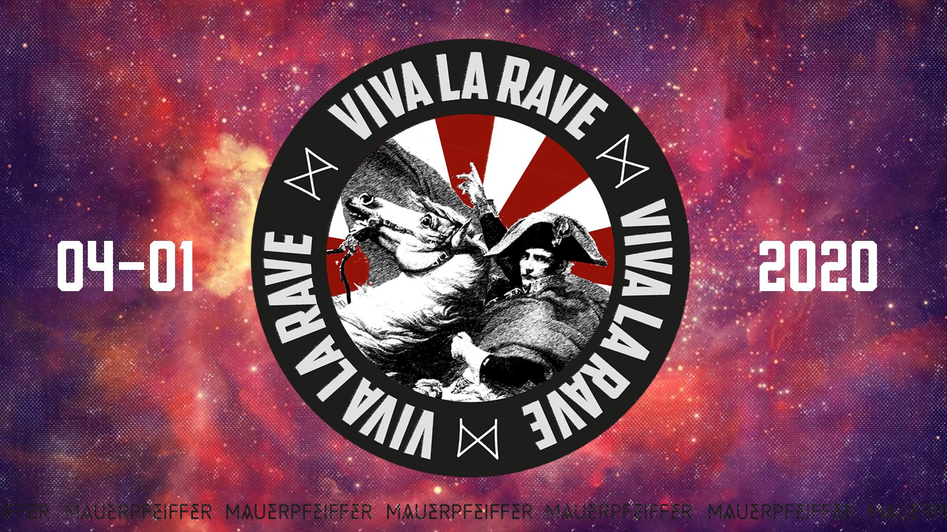 VIVA la RAVE - 14 DJs, 3 Floors - Kickstart 2020!