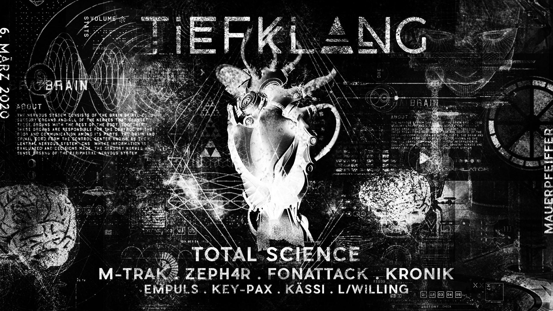 Tiefklang mit Total Science (Computer Integrated Audio | UK)